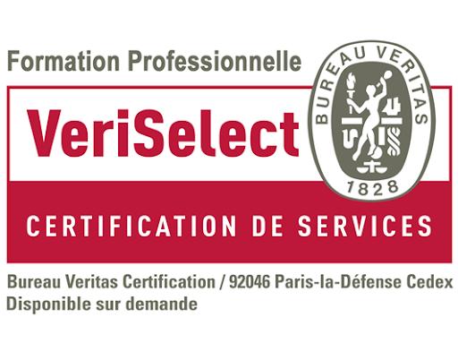 Certifié VeriSelect Formation Professionnelle